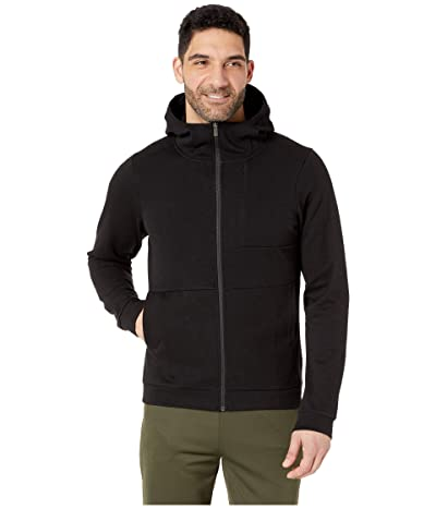 NAU Hyperspacer Full Zip Hoodie (Caviar) Men