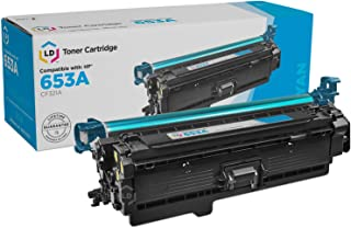 LD Compatible Toner Cartridge Replacement for HP 653A CF321A (Cyan)