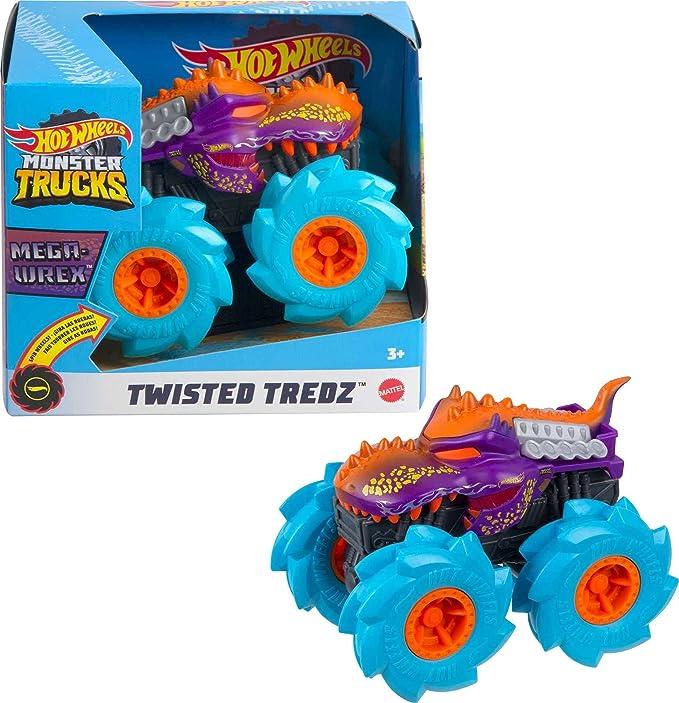14 opinioni per Hot Wheels- Veicolo Monster Truck Zombie-Wrex, Macchinina con Ruote GIGANTI con