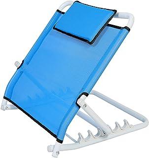 Bed Backrest Support, Healthcare Adjustable Angle Back Rest Seniors Fabric Bed Back Rest Bed Wedges Medical Supplies Equip...