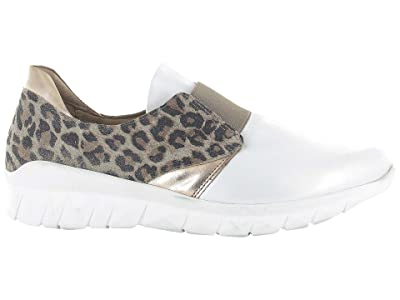 Naot Intrepid (Soft White Leather/Cheetah Suede/Rose Gold Leather) Women
