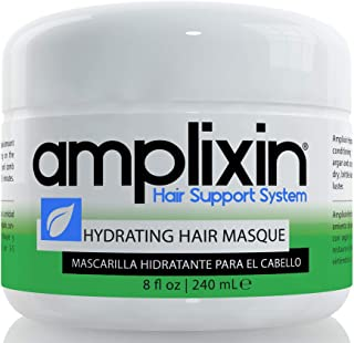Amplixin Hydrating Hair Masque - Deep Conditioning Hair Mask For Women And Men, Made With Coconut Oil And Argan Oil For Dr...