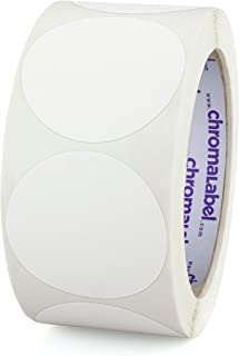 ChromaLabel 2 inch Color-Code Dot Labels | 500/Roll (White)