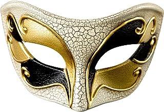 Mask Masquerade Vintage Retro Venetian Crack Party Mardi Gras Costume Halloween