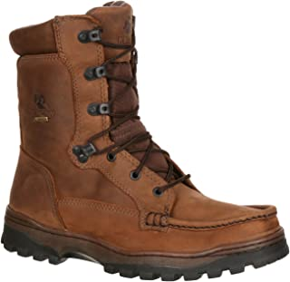 ROCKY Men's Moc Toe Outback Gor-Tex Waterproof Outdoor Boot-8729