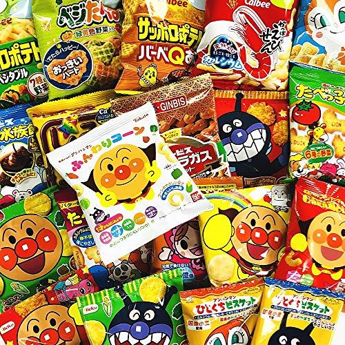 お子様のおやつの時間ですよ〜♪ キャラクター小分けお菓子11種類 合計51袋詰め合わせセット