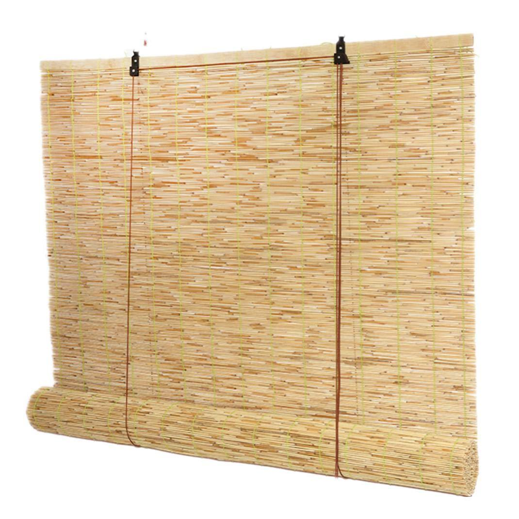 LUWEIL1AN Persiana de bambú Las Cortinas del Rodillo del Jardín Al Aire Libre, Persiana,Enrollable Cortina de Bambú Retro Sombreado Anti-Polilla a Prueba de Humedad,el tamaño Puede ser Personalizado: Amazon.es: Hogar