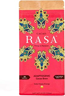 Sponsored Ad - Cacao Rasa Coffee Alternative with Chaga + Reishi for All-Day Energy + Focus - Organic, Adaptogenic, Vegan,...