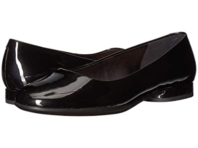 ECCO Anine Ballerina (Black Cow Leather) Women