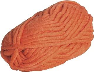 Knit Picks Tuff Puff Super Bulky 100% Wool - 100 Gram Skein (Orange)