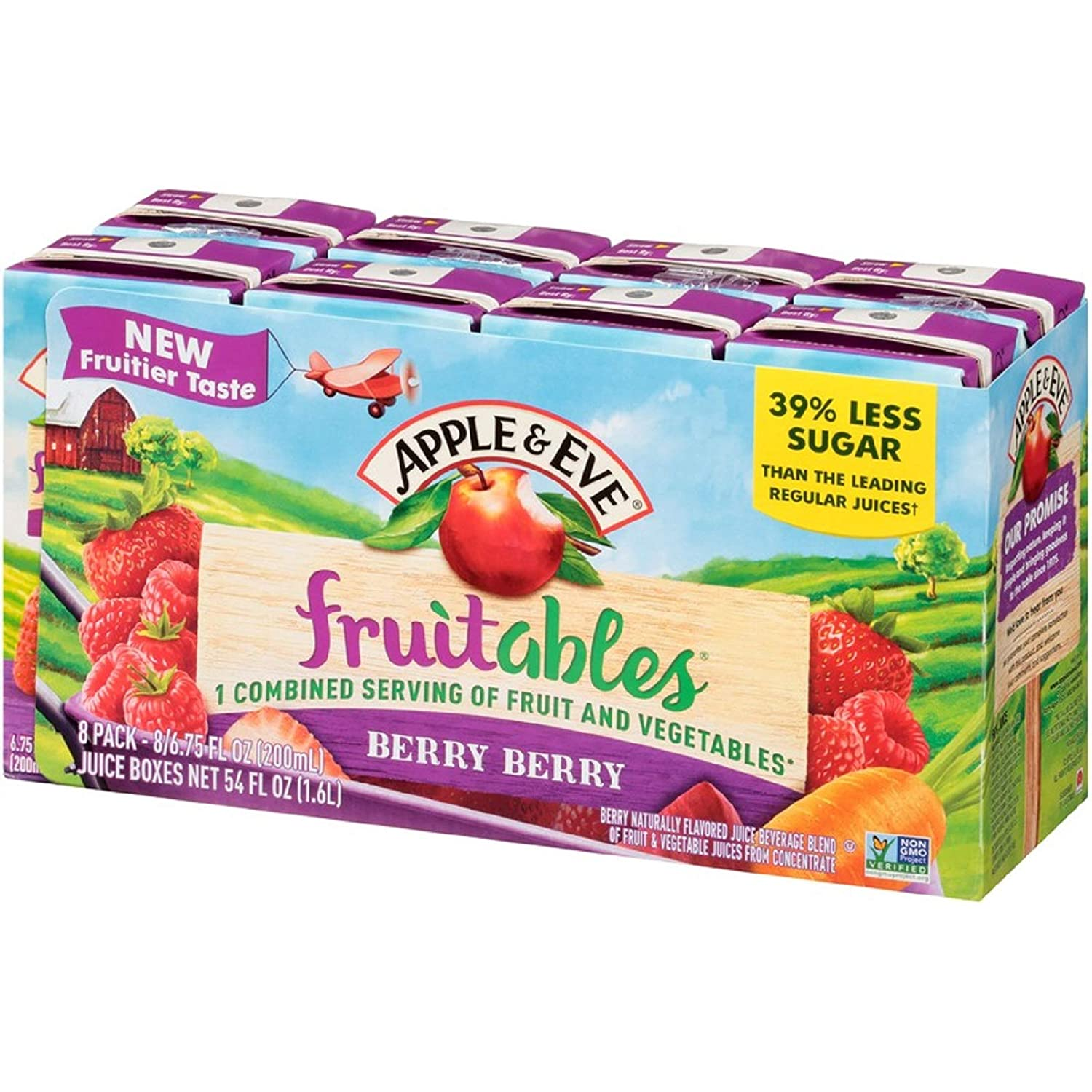 Challenge the lowest price of Japan Apple Milwaukee Mall Eve Fruitables Berry Juice Cou Fluid-oz 6.75 40