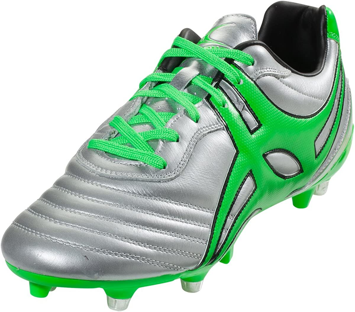 Gilbert Jink Pro 6 Stud Rugby Fashionable Boot Silver cheap