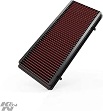 K&N engine air filter, washable and reusable: 2007-2014 Nissan (Murano, Altima, Altime Coupe, Altima Hybrid) 33-2374