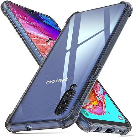 Ukayfe Silicone Coque Compatible avec Samsung Galaxy A5 2016 Ultra Fine Housse Etui de Protection Clear TPU /Étui Protecteur Souple Transparente Anti Choc Placage Bumper Case Cover Coquille-Rouge