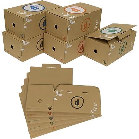 コミック CD DVD 収納 ボックス ケース 10個セット B6版 漫画 単行本 (アソート)