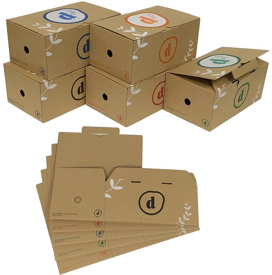 緊張するバック会社コミック CD DVD 収納 ボックス ケース 10個セット B6版 漫画 単行本 (アソート)