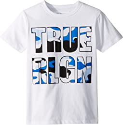 True Religion Kids Camo Logo Tee (Big Kids)
