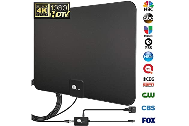 Best Indoor Hdtv Antenna 2019 Best indoor tv antennas for hdtv | Amazon.com