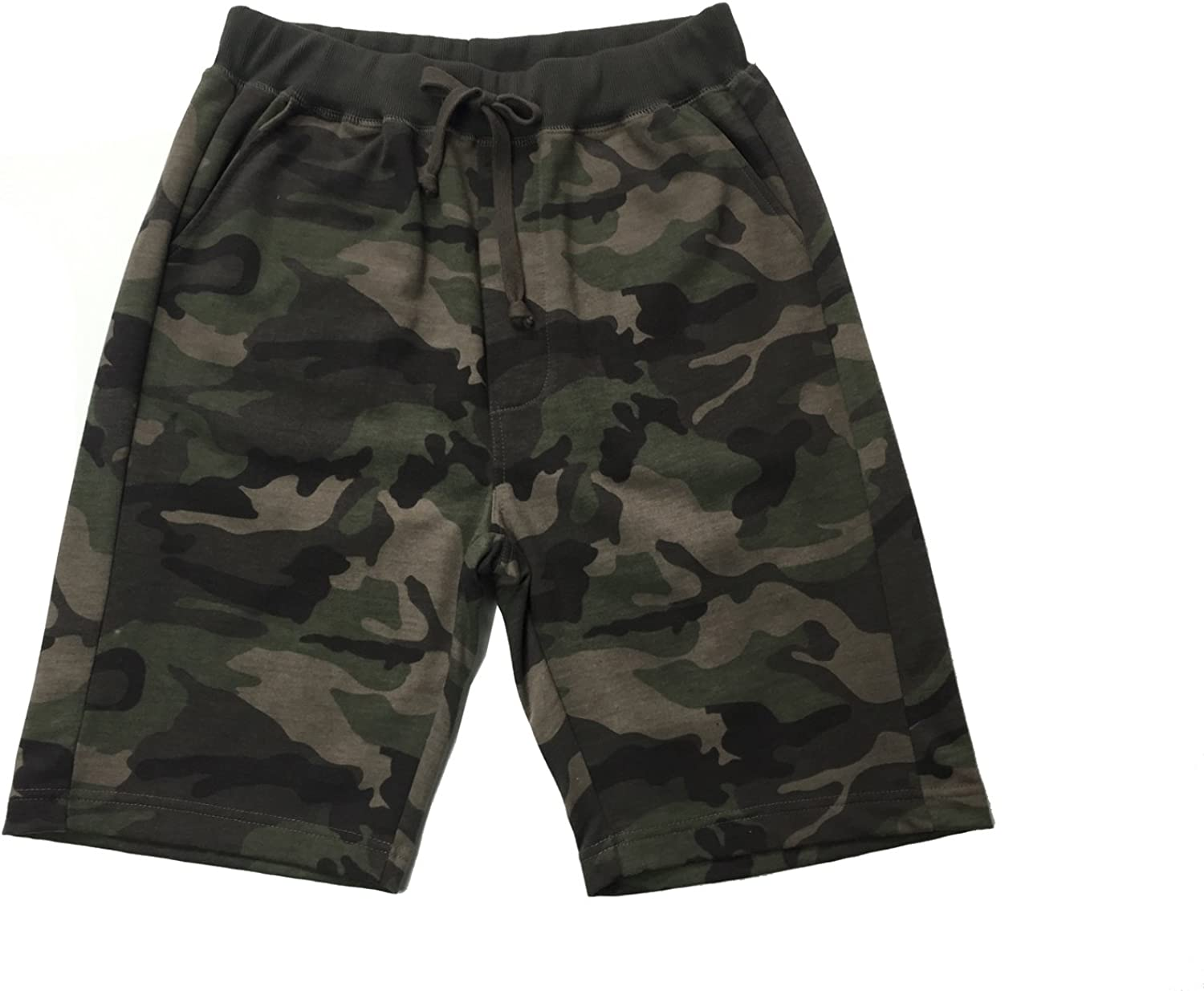 Ougedi Men's Camouflage Atlanta Sale Special Price Mall Shorts Jogger Army Clas Waistband
