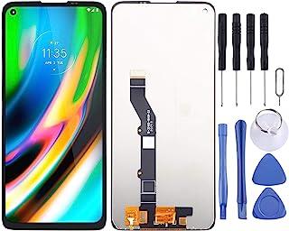 SHUHAN LCD Screen Phone Repair Part LCD Screen and Digitizer Full Assembly for Motorola Moto G9 Plus XT2087-1 Mobile Phone...