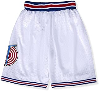 CNALLAR Mens Basketball Shorts Moive Costume 90S Space Tune Squad Pants