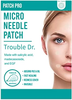 [PATCH PRO] Trouble Dr. Microneedle Patches 18pcs - Pimple, Acne, Blemish Spot Patch to Boost Skin Healing Ingredients wit...