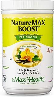 NatureMax Boost Pea Protein Powder Vanilla