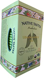 Organic Australian Lemon Myrtle Tea - More Natural Lemon Flavor than Lemongrass Tea or Lemon Verbena Tea : ...