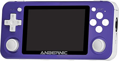 DXL RG351P Console de Jeu Portable, Jeux vidéo Plug & Play Système Linux Open Source Prise en Charge Carte réseau Ext...