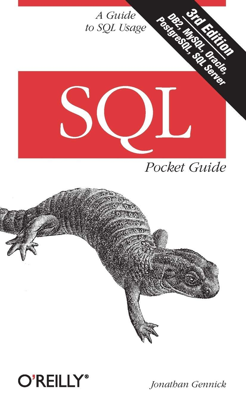 Image OfSQL Pocket Guide 3e