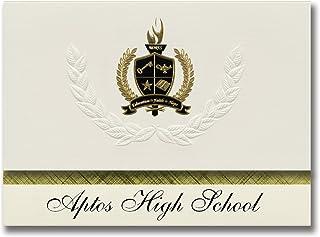 Signature Announcements Aptos High School (Aptos, CA) Graduation Announcements, Presidential style, Basic package of 25 wi...