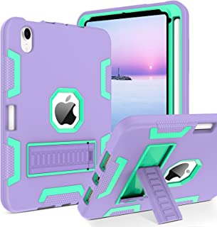 BENTOBEN iPad Mini 6 Case, iPad Mini 6th Generation Case, Case iPad Mini 6, Three Layer Heavy Duty Shockproof Kickstand wi...