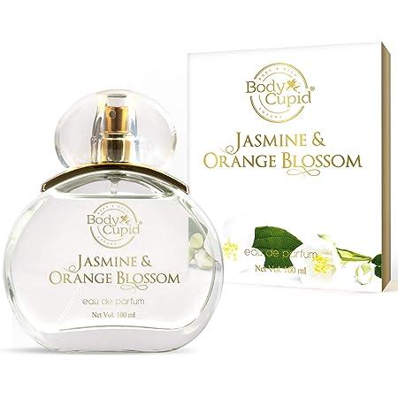 Body Cupid Jasmine & Orange Blossom Eau de Parfum - Floral collection -For Women - 100 ml