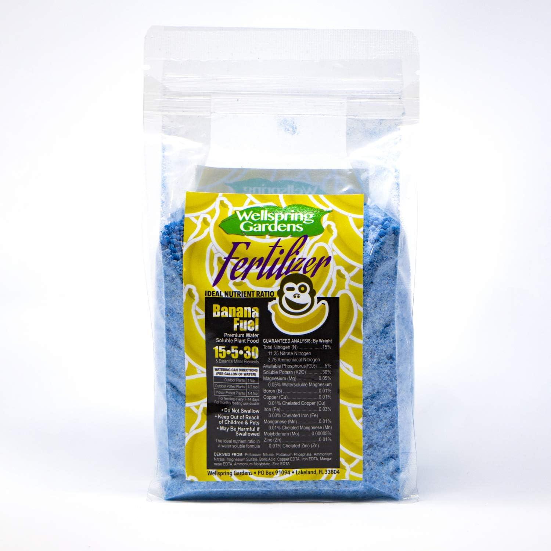 Banana Fertilizer Fuel - 14 Ounces - Water-Soluble 15-5-30 Blend
