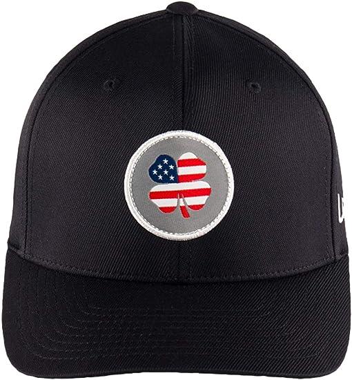 USA Patch Clover/White Trim/Black