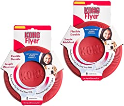 Kong Rubber Flyer 2-Pack Small Red