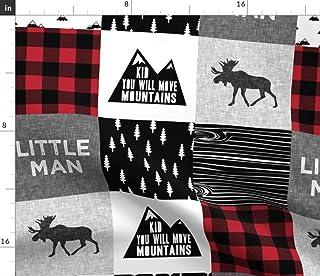Spoonflower Fabric - Little Man & You