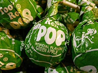 Green Apple Tootsie Pops 60 Count Bulk