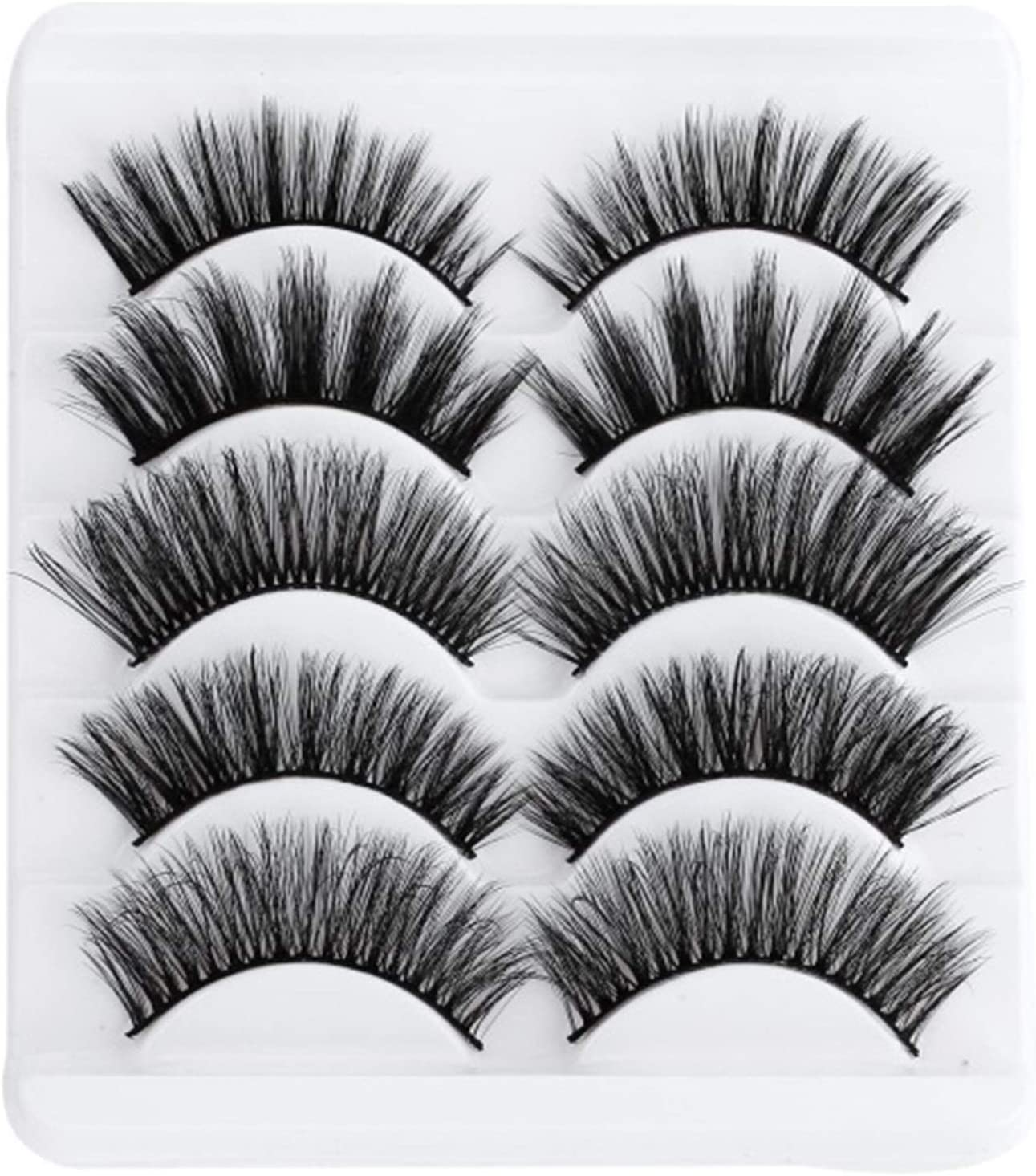 JJZY NDJPN 5-to-Million 5D Soft Don't miss the campaign Eyelashes F Hand-Made Soul Low price False