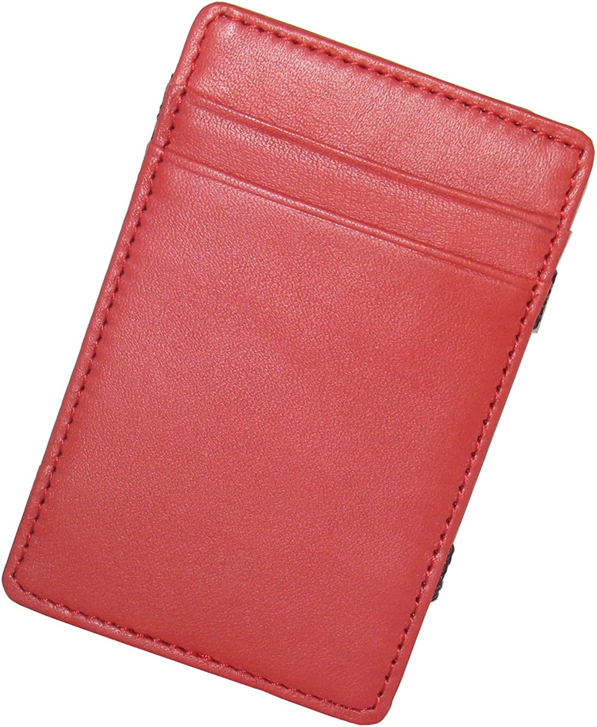 Royce Leather Magic Wallet in Leather, Brown, One Size