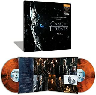 Game of Thrones: Season 7 [Original TV Soundtrack] [Fire Edition] [Orange and Black Swirl Exclusive Vinyl]