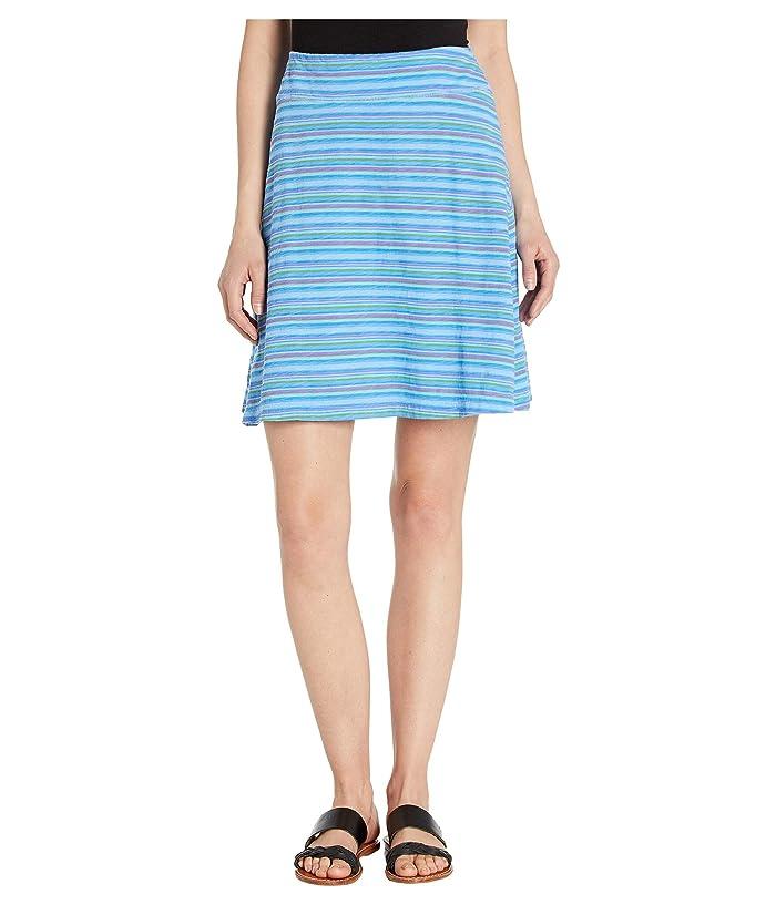 Fresh Produce Promenade Stripe Marina Skirt (Bayside Blue) Women
