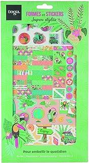 Toga Kit Décoration, Multicolore, OneSize, Set de 3 Pièces
