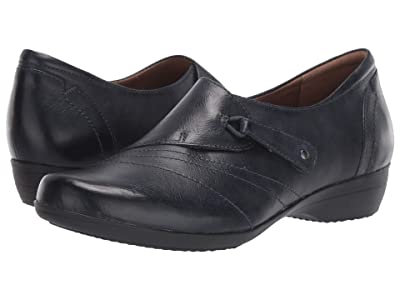 Dansko Franny (Navy Burnished Calf) Women