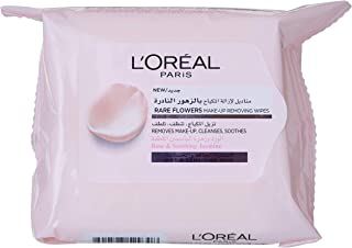 L'Oreal Paris Rare Flowers Wipes- Dry and Sensitive Skin X25