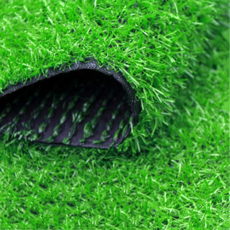 アパル実行可能杭YNFNGXU 20ミリメートルパイル高密度人工芝(2メートル)ワイドレングス安いナチュラルでリアルな庭の草偽の芝生 (色 : A, サイズ さいず : 2x12m)