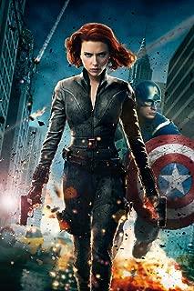(24x36) The Avengers (2012) Movie Poster (SPECIAL THICK POSTER) Original Size 24x36 Inch - Robert Downey Jr., Chris Evans, Scarlett Johansson