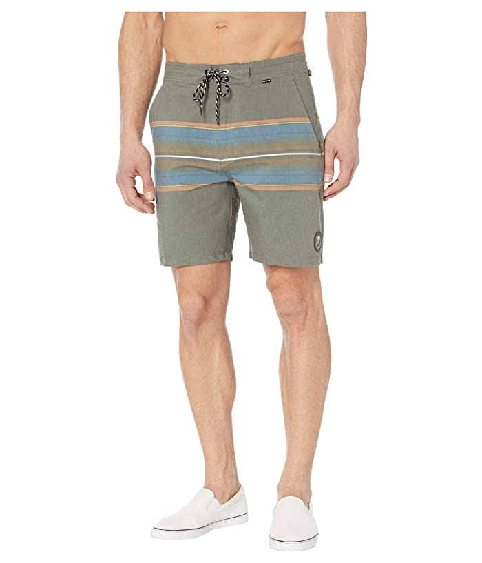 Hurley  18 Beachside Pendleton Olympic Boardshorts (Dark Grey) Mens Swimwear