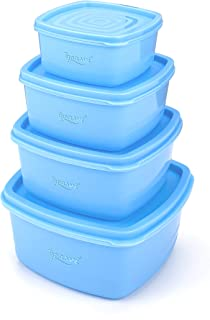 TAPASVI WITH DEVICE OF LEAF Airtight Plastic Storage Kitchen Container Grocery Jar Masala Box Idle for Food, Grain, Rice, ...