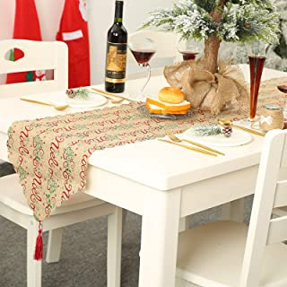 13 x 70 cm regali di nozze feste famiglia cena per casa riunione cucina Runner da tavolo colorato con motivo geometrico decorazione per la casa None-brands
